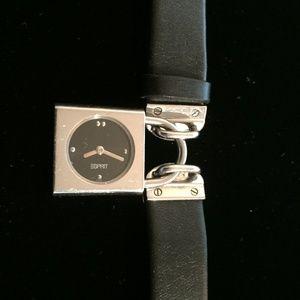 Esprit Ladies Small Padlock Charm Watch